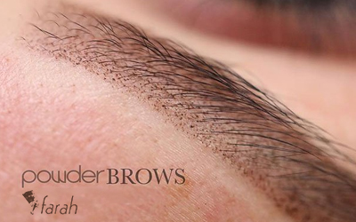 Puder obrve - Powder Brows